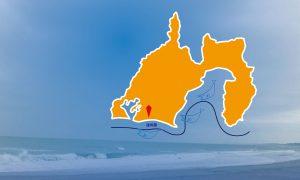静岡県と遠州灘