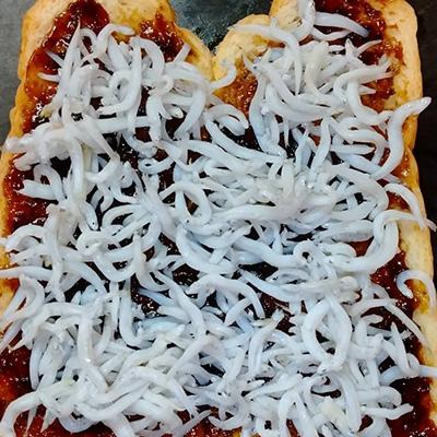 海苔の佃煮トースト400_001